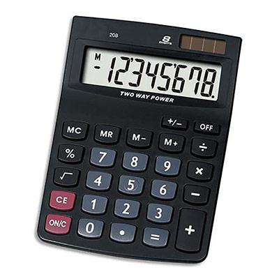Calculatrice de poche 5 Etoiles - 8 chiffres - KCDX120 (photo)