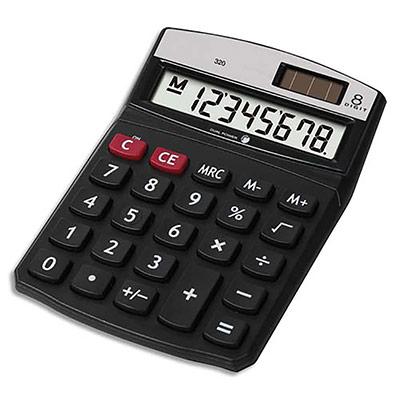 Calculatrice de bureau 5 Etoiles - 8 chiffres - KC760 référence 320 (photo)