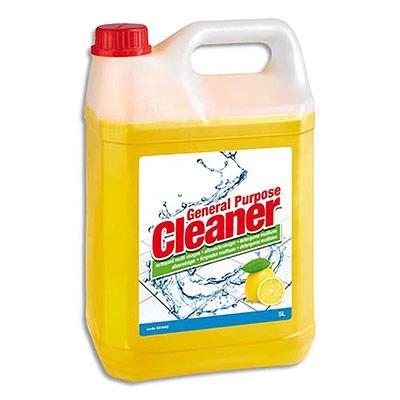 Nettoyant multi-usages 5 Etoiles - parfum citron - bidon de 5L (photo)