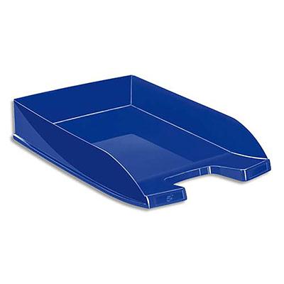 Corbeille à courrier 5 Etoiles - 24 x 32 cm - coloris bleu (photo)