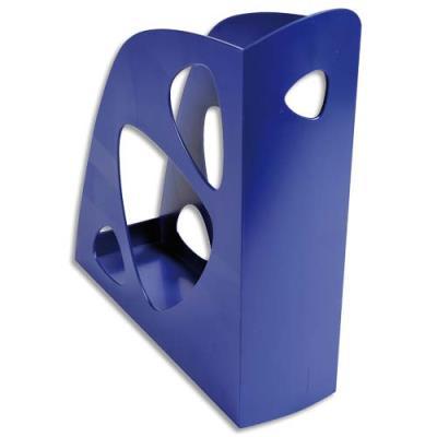 Porte-revues 5 Etoiles en polystyrène - dos 7,7 cm - bleu (photo)