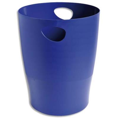 Corbeille à papier 5 étoiles - 15L - bleu (photo)