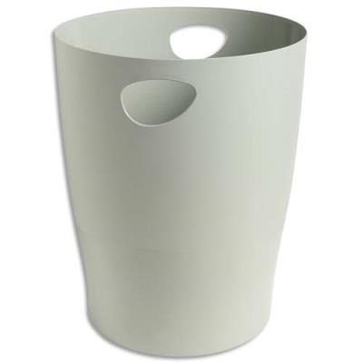 Corbeille à papier 5 étoiles - 15L - gris (photo)