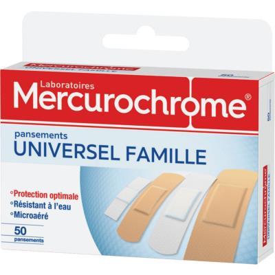Pansements famille Mercurochrome - boîte de 50 (photo)