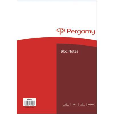 Bloc de bureau 5 Etoiles A5 - 70g - 14.8 x 21cm - 200 pages petits carreaux - feuilles détachables - couverture papier (photo)