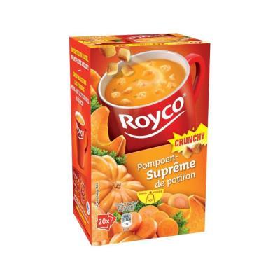 Soupes Royco - crunchy potiron - boîte de 20