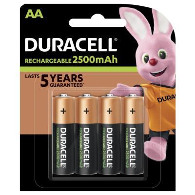 Pile rechargeable AA / HR6 Ultra - 2500 mAh - Lot de 4 accus (paquet 4 unités)