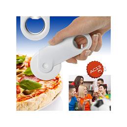 Roulette à pizza ouvre-bouteille (photo)