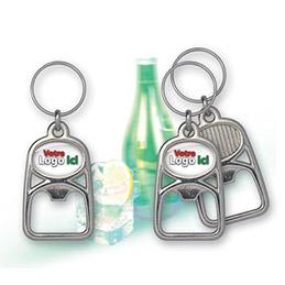 Porte-clefs publicitaire décapsuleur (photo)