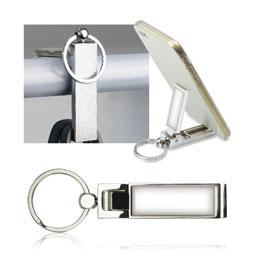 Porte-clefs porte-sac / Support Téléphone (photo)