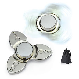 Spinner métal triple pale (photo)