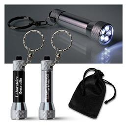 Lampe de poche porte clés modèle vision