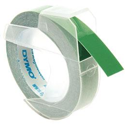 Ruban à étiqueter DYMO - vert - 3mx9 mm (photo)