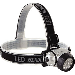 Lampe frontale LED - 40 Lumens
