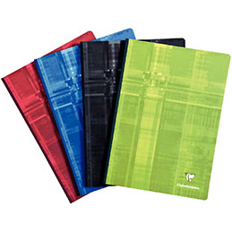Brochure  Clairefontaine - 21x29,7cm - 192 pages - seyes (photo)