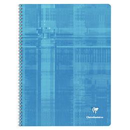 Cahier à reliure intégrale Clairefontaine - 24x32 cm - 180 pages - quadrillé 5x5 (photo)