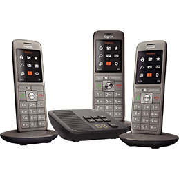 Téléphone GIGASETSIEMENS CL660A trio (photo)