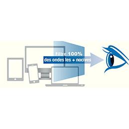 Filtre anti-lumière bleue BlueCat Screen Kokoon - 14'' - taille écran 174x310mm (photo)