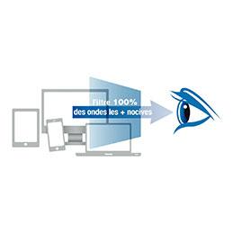 Filtre anti-lumière bleue BlueCat Screen Kokoon - 22'' - taille écran 297x475mm (photo)