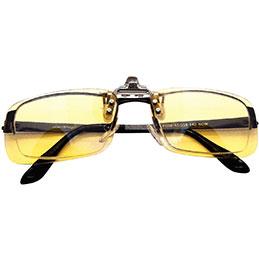 Clip anti-lumière bleue BlueCat Kokoon - lunettes taille L (photo)