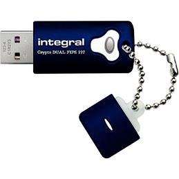 Clé USB 3.0 Intégral FIPS197 - 64 go (photo)