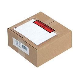 Pochettes expédition auto-adhésives documents ci-inclus - 120x220mm - boîte de 1000 (photo)
