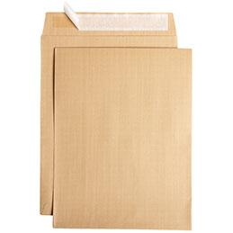 Pochettes kraft avec bande siliconée La Couronne - 275x365 - 130 g - boîte de 250