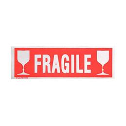 Etiquettes adhésives Fragile Agipa - 190x60mm - sac de 100 (photo)
