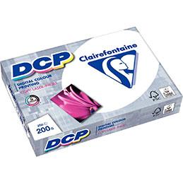 Papier blanc DCP - 200 g - A3 - spécial laser - ramette de 250 feuilles (photo)
