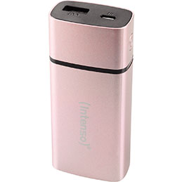Batterie universelle Intenso - 5200 mah - rose (photo)