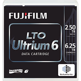 Cartouche LTO6 Fujifilm - 2,5/6,25To (photo)