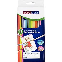 Crayons de couleur - boîte de 12 (photo)