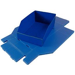 Bac à bec en polypropylene Viso - 180x280x105mm - lot de 6 (photo)