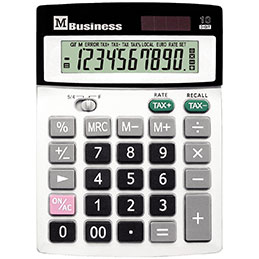 Calculatrice de bureau - 10 chiffres (photo)