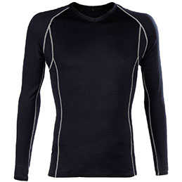 Tee shirt BODYWARMER Portwest - noir - taille L