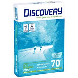 Papier blanc Discovery - 70 g - A4 - ramette de 500 feuilles (photo)