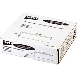 Etiquettes d'affranchissement Agipa - 170x45 mm - boîte de 1000