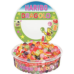 Boîte Haribo dragolo - 750g (photo)