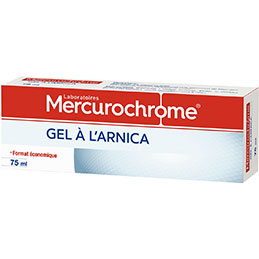 Tube à l'arnica Mercurochrome - 75ml (photo)
