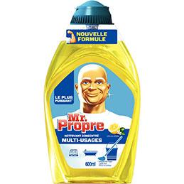 Flacon gel liquide concentré Mr Propre - citron d'été - 600ml (photo)