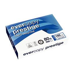 Papier blanc Evercopy Prestige - 80 g - A4 - ramette de 500 feuilles (photo)