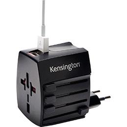 Adaptateur secteur de voyage - 2 ports USB (photo)