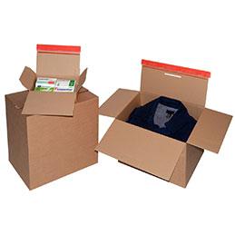 Cartons à fond automatique Sedic - 159x129x70 - Paquet de 10 (photo)