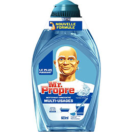 Flacon gel liquide concentré Mr Propre - fraîcheur d'hiver - 600ml (photo)