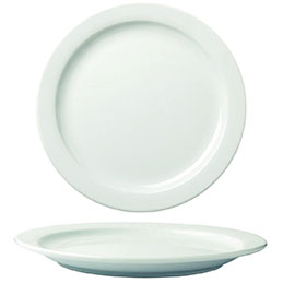 Assiettes plates - diamètre 23 cm - lot de 6 (photo)