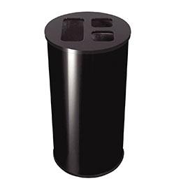 Collecteur tri sélectif JVD - 60 litres - noir (photo)