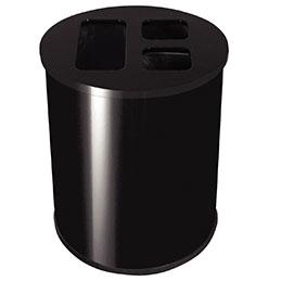 Collecteur tri sélectif JVD - 40 litres -+J8914:J8942 noir (photo)