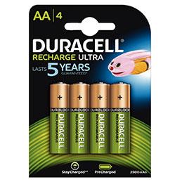 Accu DURACELL AA2500A ULTRA POWER - blister de 4 (photo)