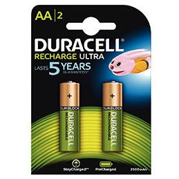 Accu DURACELL AA2500A ULTRA POWER - blister de 2 (photo)