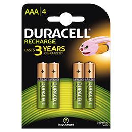 Accu DURACELL AAA 750A PLUS POWER - blister de 4 (photo)